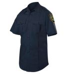 Blauer 8421-1 Short Sleeve Cotton Blend Shirt