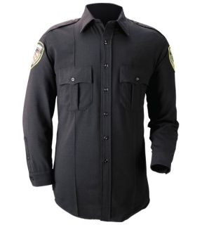 Blauer 8431 Long Sleeve Cotton Blend Shirt