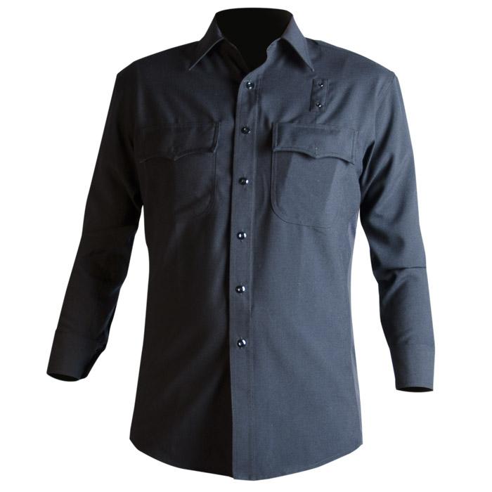 Blauer 8436W-1 Ls Wool Blend Supershirt w/ Flat Pkts (Womens)