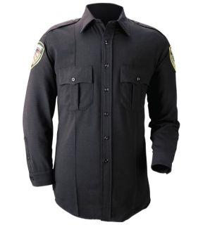 Blauer 8450W Long Sleeve Wool Blend Shirt (Womens)