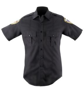 Blauer 8460 Short Sleeve Wool Blend Shirt