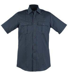 Blauer 8610-Z Short Sleeve Zippered Polyester Shirt