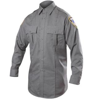 Blauer 8900H Long Sleeve Rayon Blend Shirt (Heather)