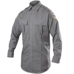 Blauer 8900H Long Sleeve Rayon Blend Shirt (Heather)