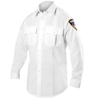 Blauer 8900 Long Sleeve Rayon Blend Shirt