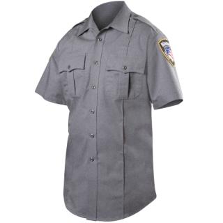 Blauer 8910H Short Sleeve Rayon Blend Shirt (Heather)