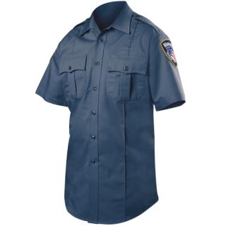 Blauer 8910 Short Sleeve Rayon Blend Shirt