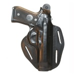 Blackhawk 4200 3-Slot Leather Pancake Concealment Holster