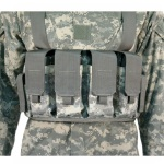 Blackhawk 55CP01 Chest Pouches M16/M4 (Holds 4 mags & 2 pistol mags)