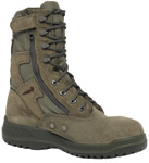 Belleville Shoe 610ZST Hot Weather Tactical Side Zipper Safety Toe Boot - USAF