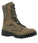 Belleville Shoe F600ST Women's Hot Weather Sage Green Safety Toe Boot - USAF