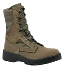 Belleville Shoe F650ST Women's Waterproof Sage Green Safety Toe Boot - USAF