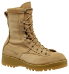 Belleville Shoe F795 Women's Waterproof Insulated Tan Combat Boot