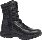 "Belleville Shoe TR918Z 8"" Hot Weather Side Zip Boot"