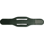 Belt Keeper Double Slotted, Velcro Closure