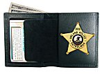 Book Style Badge Wallet with Removable Insert