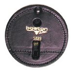 3 3/4 Round Clip-On Badge Holder Swivel w/Velcro