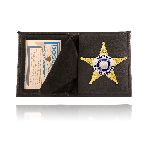 Boston Leather 100SM Book Style Badge Case, Smaller