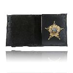 Boston Leather 175 Book Style Wallet w/ Credit Card Slots