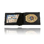 Boston Leather 6580BP 250 Billfold Style Badge Case with Wallet