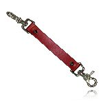 Boston Leather 5425-RED Anti-Sway Strap (Red Leather)