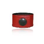 Boston Leather 5426-RED Cord Keeper (Red Leather)