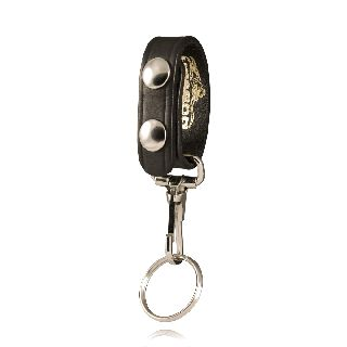 Boston Leather 5435 Belt Keeper-Key Snap Combo