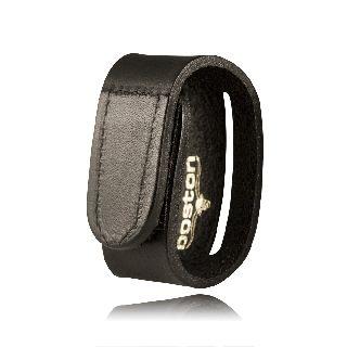 Boston Leather 5454 Belt Keeper, Double Slotted, Hook & Loop