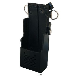 Boston Leather 5472RC Radio Holder For Harris P7200