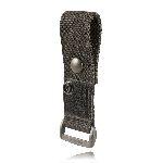 Boston Leather 5478-5 Epaulet Mic Holder, Snap Slot, Hook & Loop