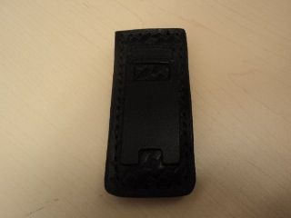 Boston Leather 5479 Pager /Cell Phone Clip Holder