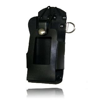 Boston Leather 5480RCHW Radio Holder For Motorola 2500/5000, High Window