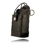 Boston Leather 5481RC-E 5481 Radio Holder w/ D Rings & Elastic