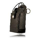 Boston Leather 5481RC-E 5481 Radio Holder w/ D Rings & Elastic