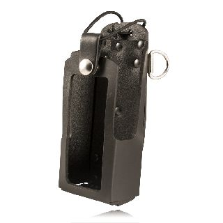 Boston Leather 5483RC 5483rc Radio Holder w/ D Rings