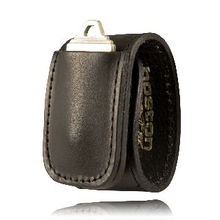 Boston Leather 5498 Double Wide Keeper w/ Key Holder Pocket