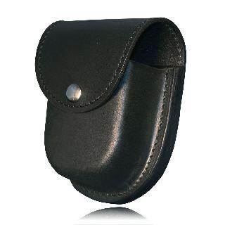 Boston Leather 5512V Double Cuff Case ( With H & L Closure )