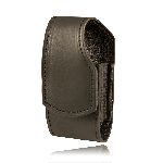 Boston Leather 5540L Smaller Cell Phone Holder, Loop Back (Fits Flip Phones Including The Motorola Razr)