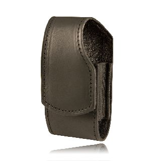 Boston Leather 5540 Smaller Cell Phone Holder, Clip Back (Fits Flip Phones Including The Motorola Razr)