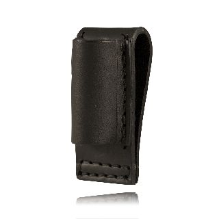 "Boston Leather 5556 Mini-Lite Holder, Open Loop, 2 1/4"" Belt"
