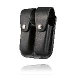 Boston Leather 5601 Clip Pouch, Double, For 9mm Or .40 Cal