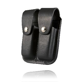Boston Leather 5602 Clip Pouch, Double, For .45 Cal