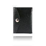 Boston Leather 5817 Book Style Badge Case With Snap Closure