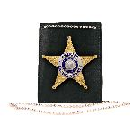 Boston Leather 5845 Neck Chain, Badge/Id, Plain, Pin-In