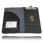 Boston Leather 5882 Citation Book Holder, 1 Pocket, 1 Clip