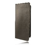Boston Leather 5883 Citation Book, Large w/ Slots
