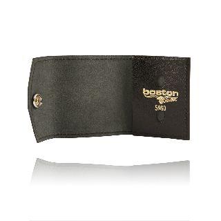 Boston Leather 5960 Small Tri-Fold, Non Recessed