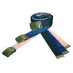 "Cotton Web Belt, 52"" Cut To Fit w/ Buckle"