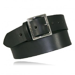 "Boston Leather 6505E 1 3/4"" Garrison Belt w/ Elastic"