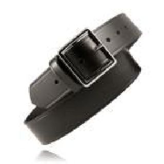 "Boston Leather 6505ST 1 3/4"" Garrison Belt, Stitched Edge"